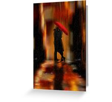 Deluge Of Love Greeting Card