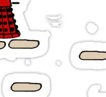 Dalek Jump Sticker