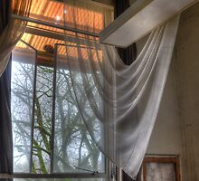 sheer curtains by Nicole W.