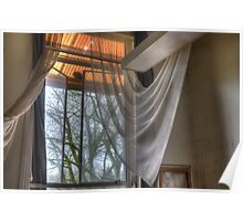 sheer curtains Poster