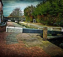 Blockhouse Lock, Worcester UK by Lissywitch