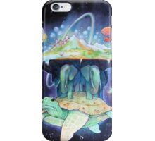Abstract Space Turtle iPhone Case/Skin