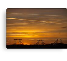Mississippi Sunrise Canvas Print