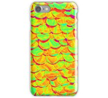 Florescent fish scales iPhone Case/Skin