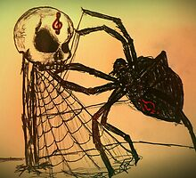 The Crimson Clef Note Spider King by Maestro22