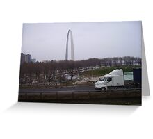 St. Louis By Truck Greeting Card