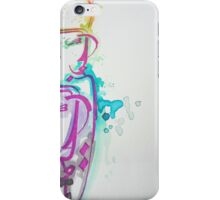 Abstract Islamic Calligraphy iPhone Case/Skin