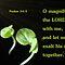 Psalm 34:3 - A Bible Verse A Day