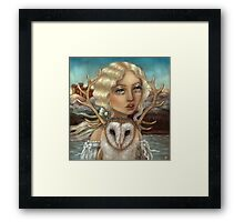 Skye and Finias Framed Print