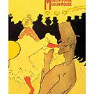 Henri de Toulouse-Lautrec - La Goulue le Moulin Rouge (1891) by ziruc