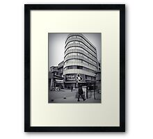 Finans center Framed Print