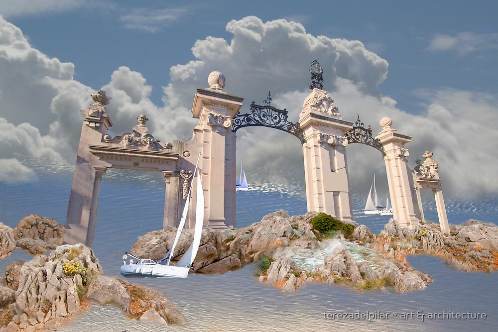 gates to the quietness of the spirit by terezadelpilar~ art & architecture