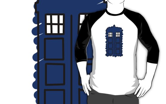 TARDIS by freakedoutgeek