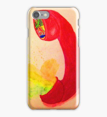 Exploding Phone iPhone Case/Skin