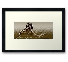 """""""Search your feelings"""" Framed Print"""
