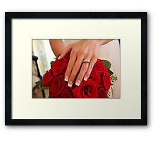 *The Bride's Bouquet* Framed Print