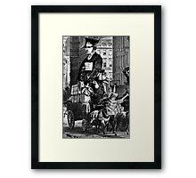I was Born Cripple. Framed Print