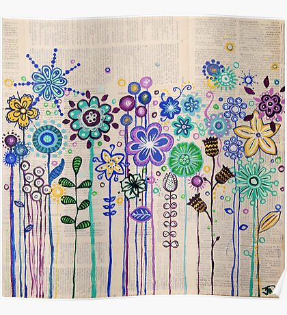 The Flower Patch Poster