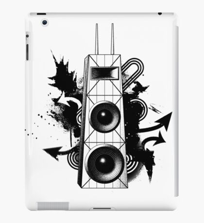 Hancock Building Speakers iPad Case/Skin