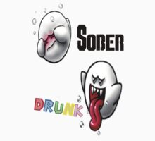 Sober/Drunk Boo by Idelan