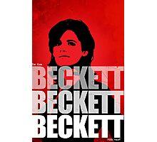 Beckett Beckett Beckett Photographic Print