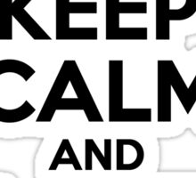 Keep Calm and Love SYVERSEN Sticker