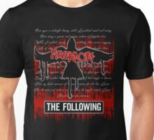 The Following: Raven in Flight Unisex T-Shirt