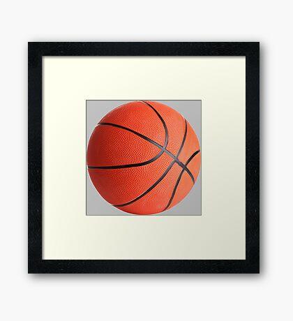Basketball - Street Ball Framed Print