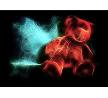Electric Bear Photographic Print