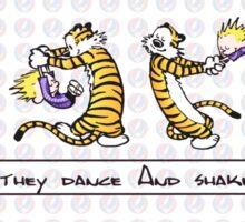 Kids they dance calvin Sticker