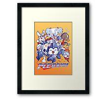 MegaMog Framed Print