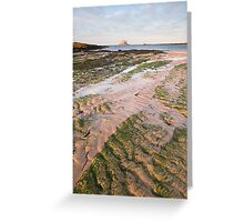 Low tide Leithies Greeting Card