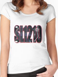 SL1210 Women's Fitted Scoop T-Shirt