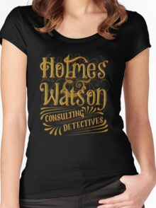 Holmes & Watson Women's Fitted Scoop T-Shirt