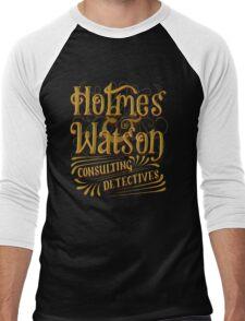 Holmes & Watson Men's Baseball ¾ T-Shirt