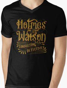 Holmes & Watson Mens V-Neck T-Shirt