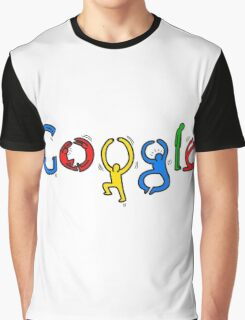 Keith Haring Google Graphic T-Shirt