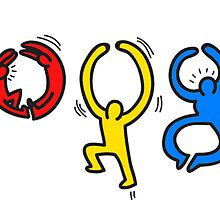 Keith Haring Google by mikebubblr