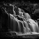New Zealand Waterfall by lesslinear