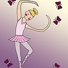 Ballerina Girl by Leni Kae