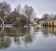 Stratford Upon Avon in the Snow by Michelle Hardy  Photography