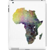 Africa map 4 iPad Case/Skin