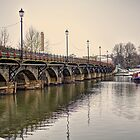Stratford Upon Avon in the Snow (2) by Michelle Hardy  Photography