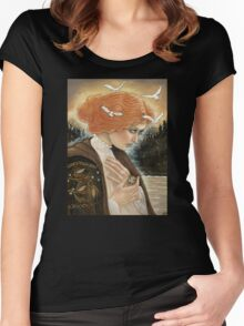 The Witching Doll Women's Fitted Scoop T-Shirt