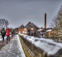 Stratford Upon Avon in the Snow (3) by Michelle Hardy  Photography