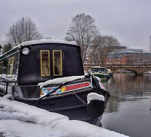 Stratford Upon Avon in the Snow (5) by Michelle Hardy  Photography