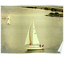 Lazy Day Sailing Poster