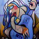 Blue on Blue by Reynaldo