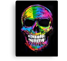 Skull colors 2 Canvas Print