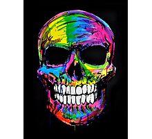 Skull colors 2 Photographic Print